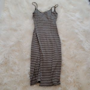 Miley and Molly Striped Dress